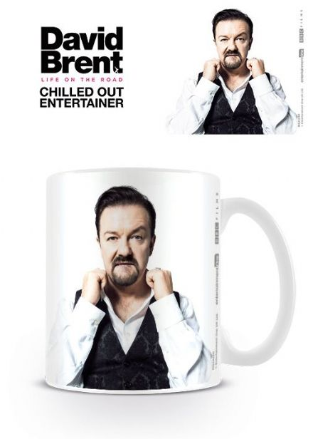 Life On The Road David Brent Entertainer Coffee Mug